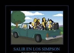 Enlace a SALIR EN LOS SIMPSONS