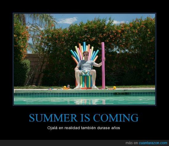 canción de hielo y fuego,churro,danny for queen,got,juego de tronos,piscina,summer is coming