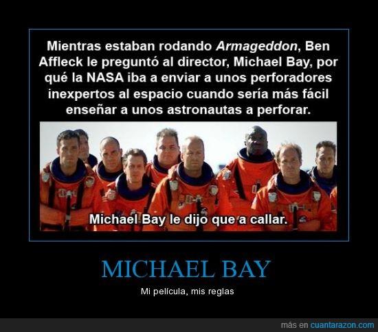 Armageddon,Ben Affleck,Michael Bay,NASA,película