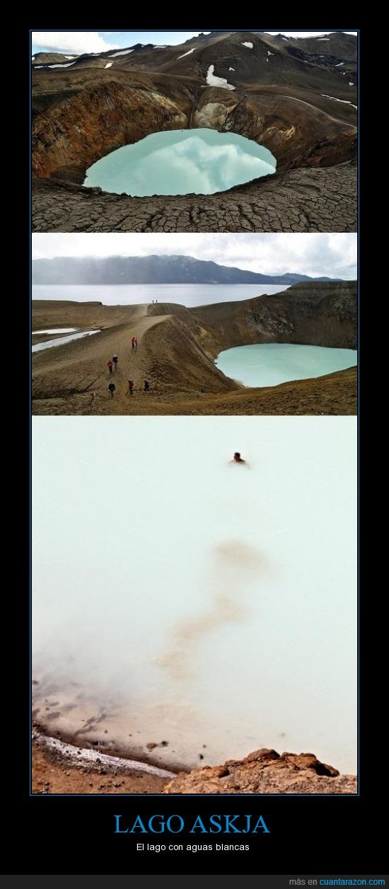 Cráter,Islandia,Lago,Minerales,Volcán