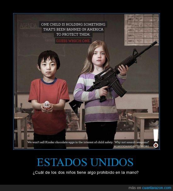armas,kinder,logica,niños,roteccion,usa