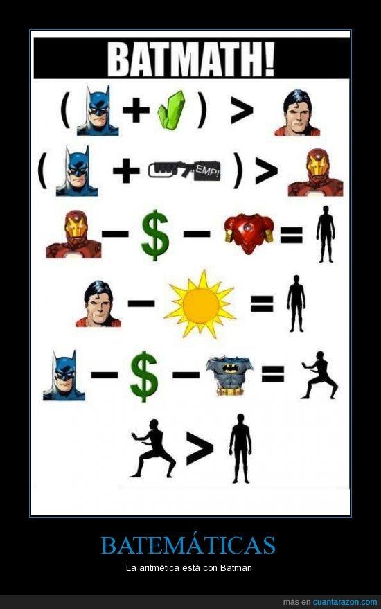 armadura,Batman,comparaciones cansinas,dinero,Iron Man,kriptonita,millonario,Pulso Electromagnético,Superman