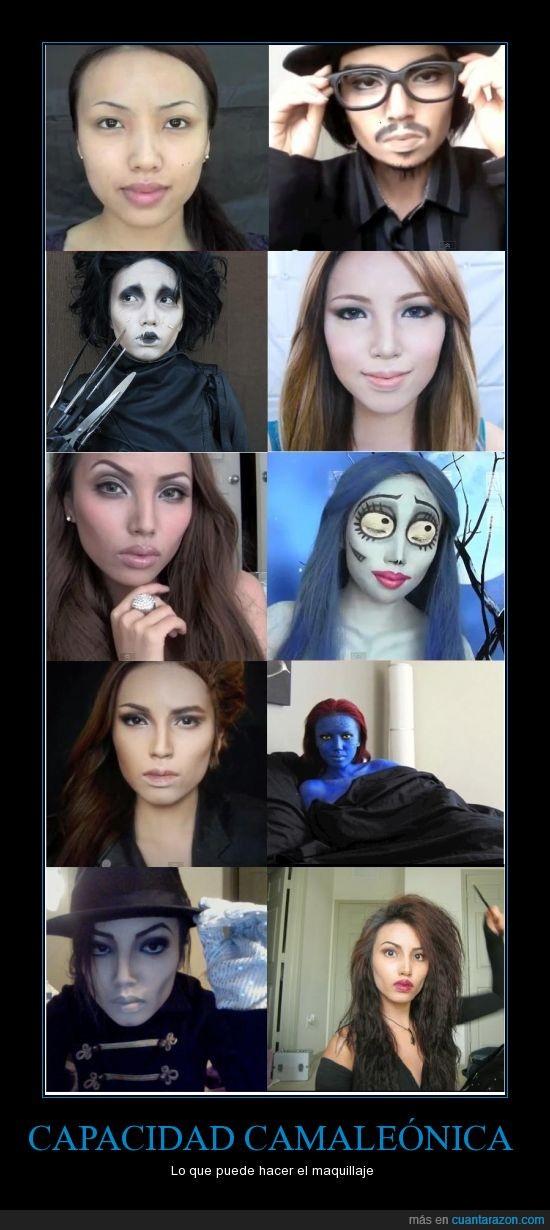 bellatrix,caracterizacion,crepusculo,jolie,maquillaje,michael jackson,Promise Phan,youtube