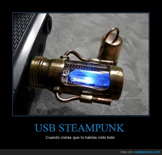 brillante,shut up and take my money,steampunk,usb