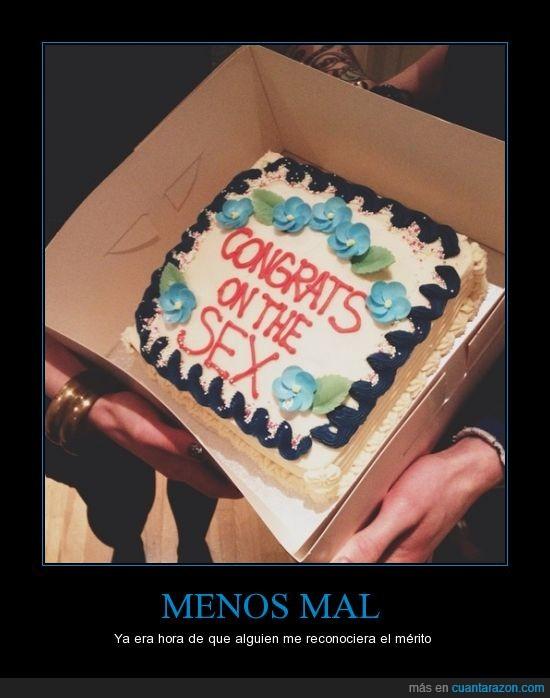 eres un crack,felicidades,pastel,tarta