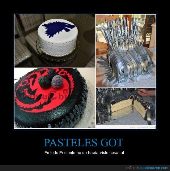 dragon,juego de tronos,mola,pasteles,stark,targaryen,tarta,trono