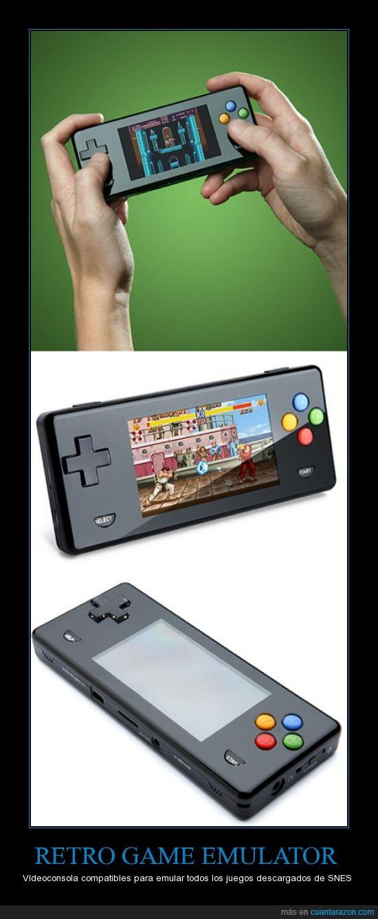 Consola,Emulador,Portátil,SNES,Vídeo juego