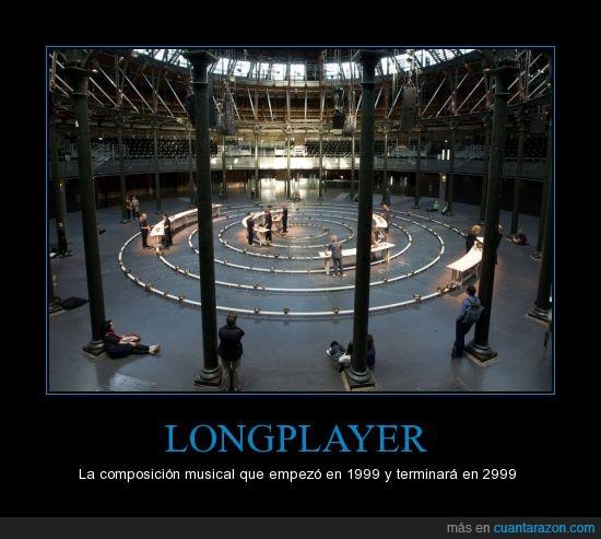 1000 años,composición musical,Longplayer,milenio,música,tiempo
