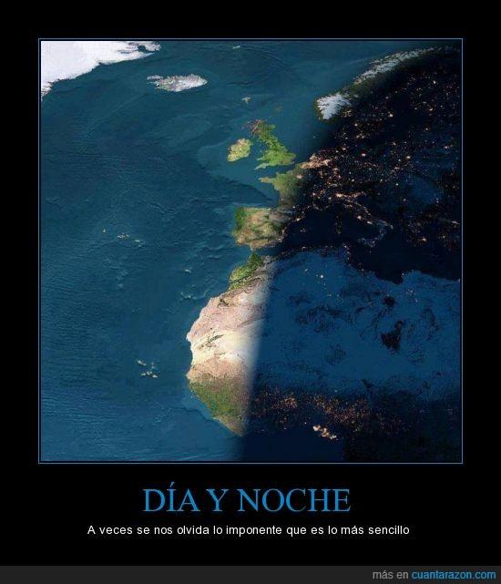 africa,Día,Espacio,Imagenes,mundo,Noche,oscuro,planeta