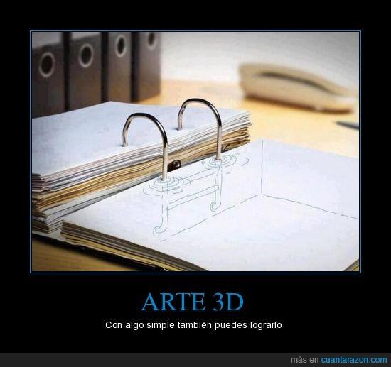 3D,Arte,Carpeta,Dibujo,Simple