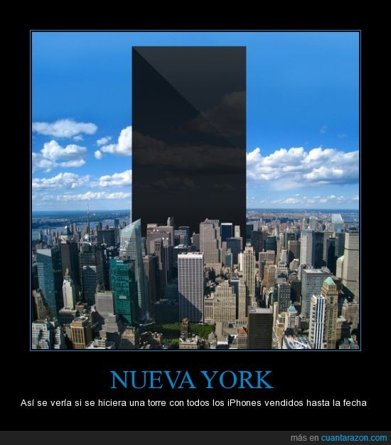 iPhone,New York,Stupid calculations,Torre