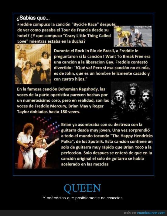 Brian,cancion,cosas que no sabías,curiosidades,Freddie,free,queen