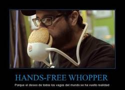 Enlace a HANDS-FREE WHOPPER