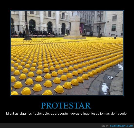 Cascos,Ingenioso,Orden,Protestar