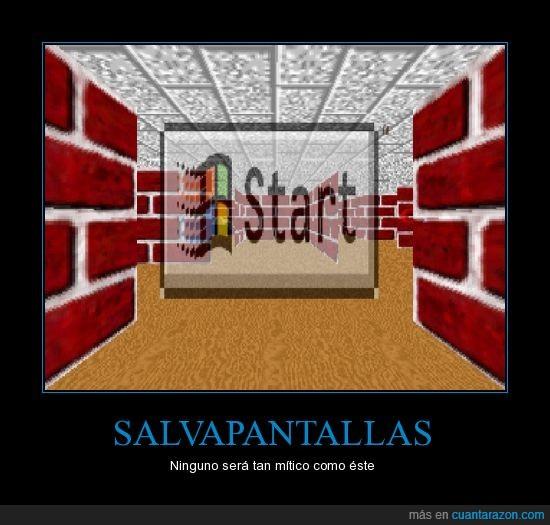 Legendario,Microsoft,Recuerdos,Salvapantallas,Windows