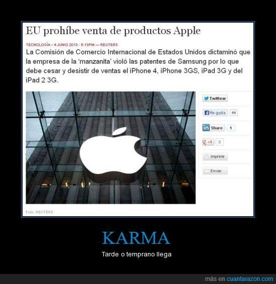apple,demanda,estados unidos,iphone,karma,patente,samsung