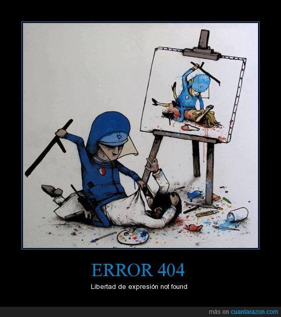 libertad,libertad de expresión. arte,pintura,policia,siglo 21