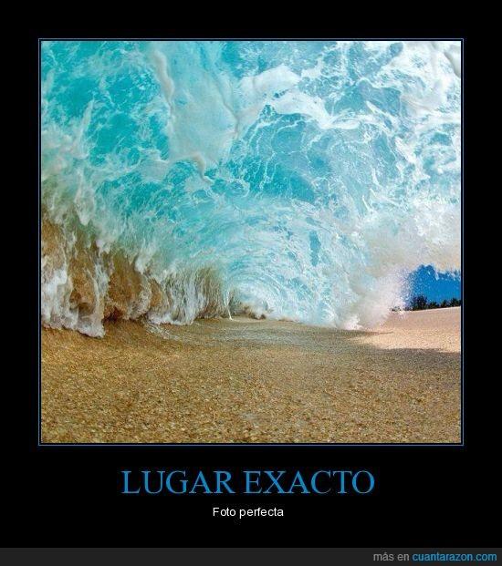 arena,exacto,lugar,momento,ola,playa