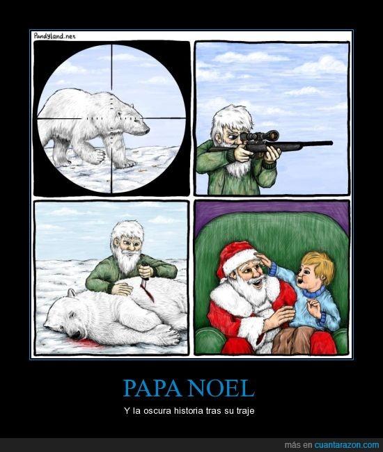 asesino,blanco,oso polar,papa noel,pelo,santa claus