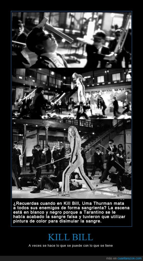 Aceptenla porfavor!,Google,Kill Bill,Pelicula,Uma Thurman