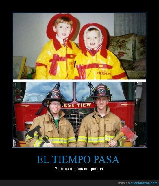 amigo,bombero,crecer,disfraz,let it be,niño,pequeño,se lo que quieras,triunfo