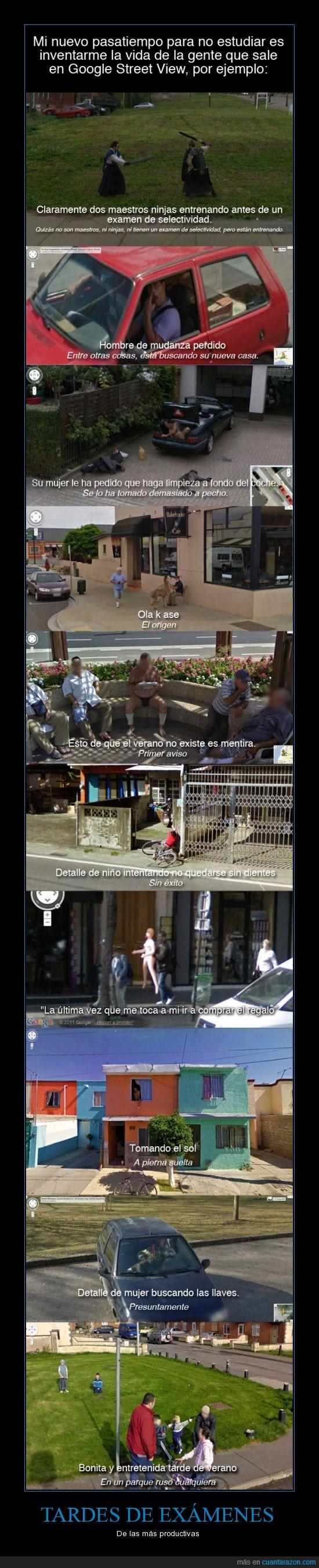 capturas,coches,fotos,google street view,historias,inventar,mapas,pasatiempo,rusos