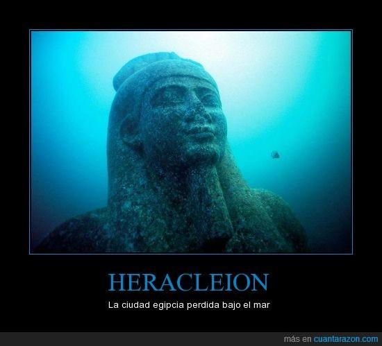 bajo,ciudad,civilización,egipcia,heracleion,mar,perdida,submarina