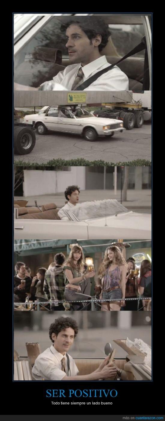 chicas,coche,descapotable,lado bueno,ligar,positivo