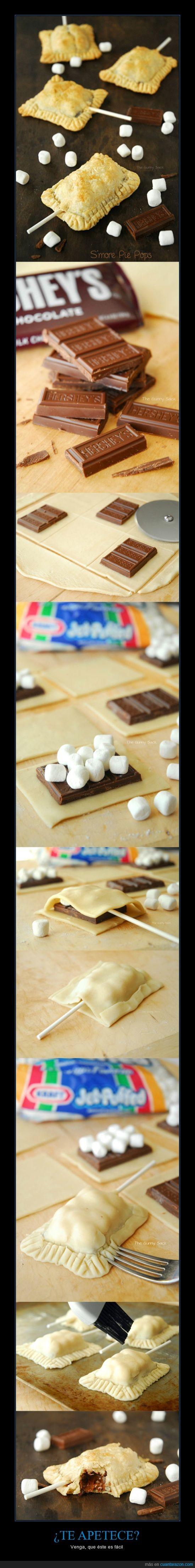 chocolate,comida,diabetes,gordos,postre,receta,smores