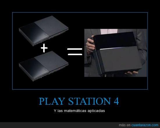 nueva consola.,play station,ps2,ps4,suma