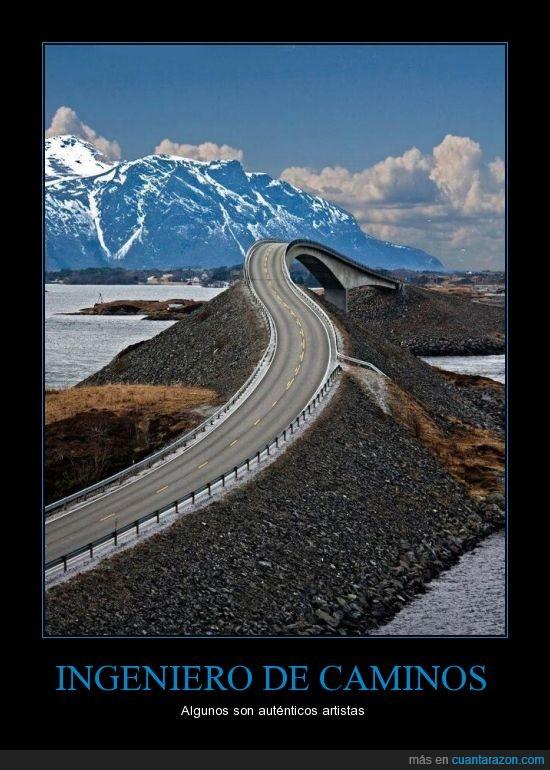 arte,caminos,ingeniero,puente