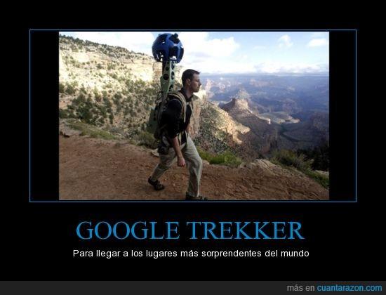 Google,google street,lugares,sorprendentes,trekker