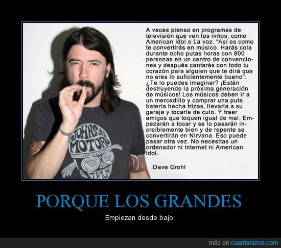 American Idol,Grandes,La Voz,Musica,Nirvana,TV