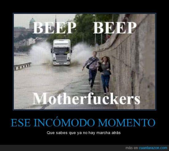 beep beep,Camion,mojar,Motherfuckers,pareja