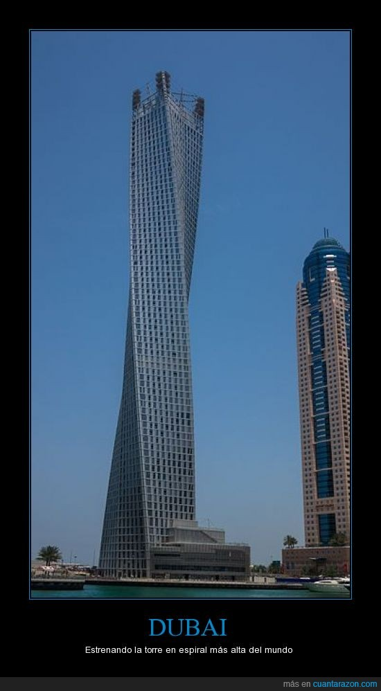 272000000 de dólares,310 m,75 pisos,Dubai,espiral,gira,Mclalo,Rascacielos
