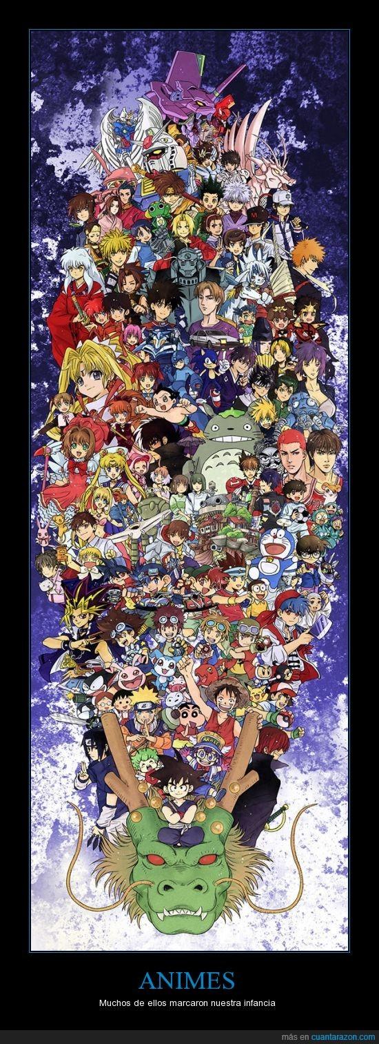 animes,japoneses,niñez,recuerdos