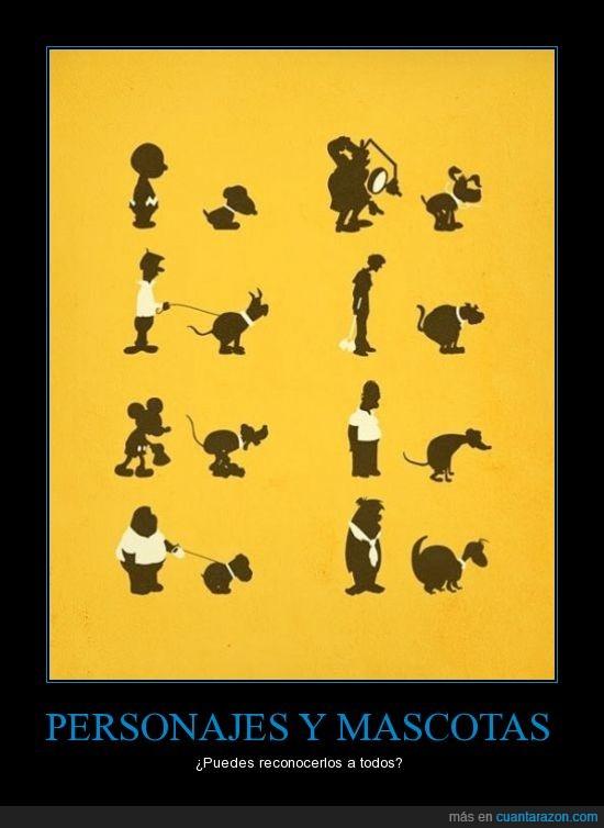 Dibujos,Infancia,Mascotas,Personajes