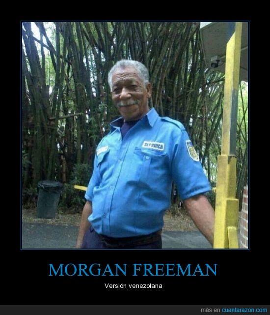 clavado,doble,igual,morgan freeman,seguro que es él pero disimula,señor
