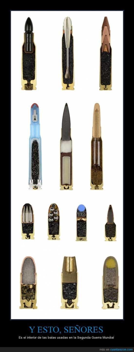 balas,gracias a Bim_el_gatete por unirme las imágenes,interior,munición,Segunda Guerra Mundial