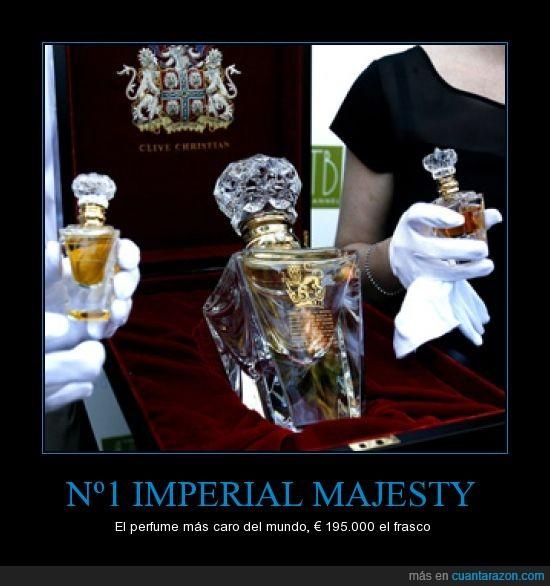 carisimo,euros,imperial majesty,mas caro del mundo,perfume