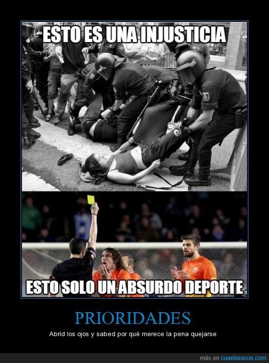Deporte,no merece la pena,pero esto hay que saberlo,soy del barcelona