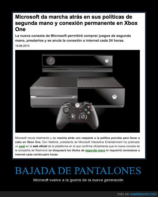 consola,drm,gamer,microsoft,playstation,segunda mano,xbox