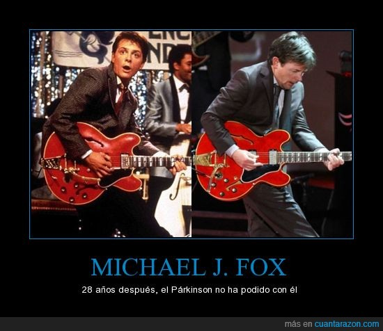 Chuck Berry,Guitarra,Marty McFly,Michael J. Fox,Regreso al futuro,Rock