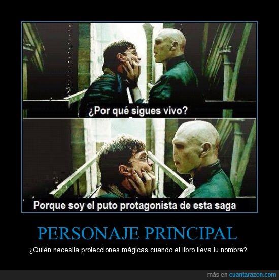 a veces hay excepciones,Harry Potter,Lord Voldemort,nombre,novela,principal,prota,protagonista,saga