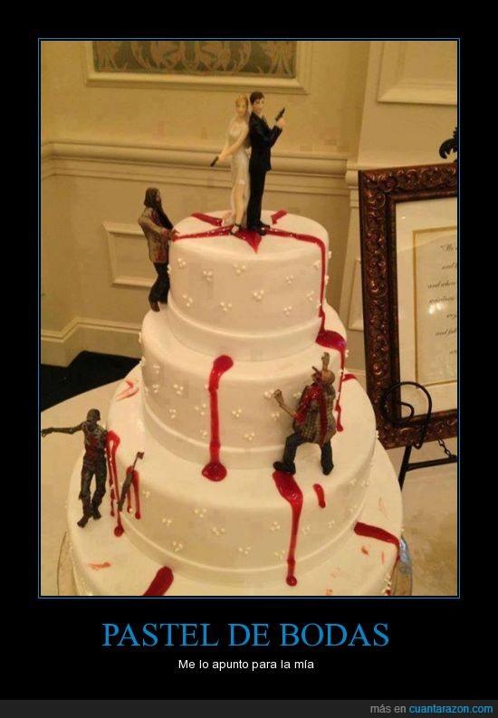 boda,esposa,esposo,matrimonio,mola,pastel,zombies