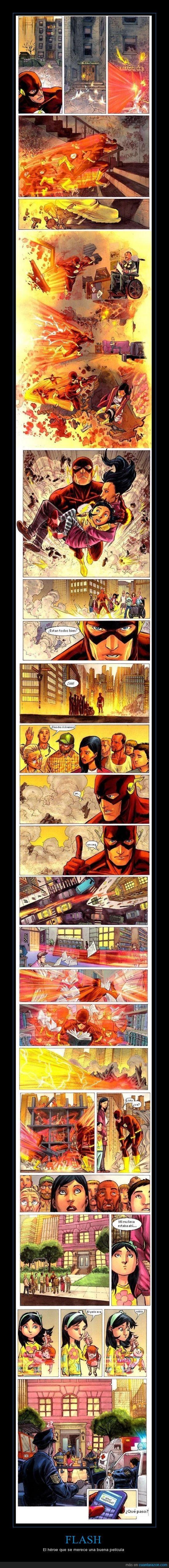 DC,Flash,Heroe,Pelicula