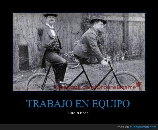 bici,cojo,discapacidad,dos,equilibrio,like a boss,manco,pierna,tandem