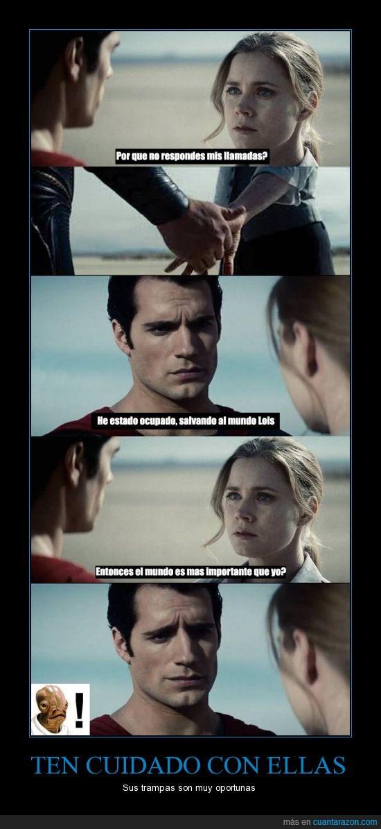 celosa,importante,It's a trap,lois,mujeres,mundo,superman
