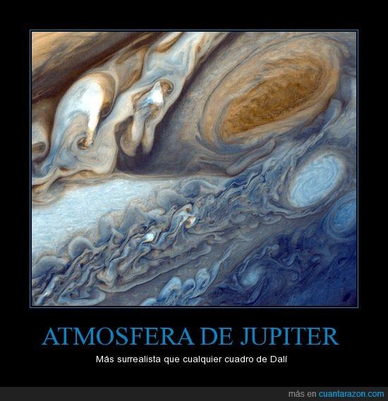 dali,jupiter,mayor tormenta del sistema solar,surrealismo,voyager 1