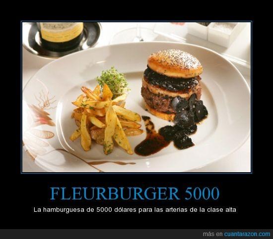 arterias,cara,dolares,Fleurburger,Hamburguesa